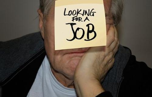 求職中の男性