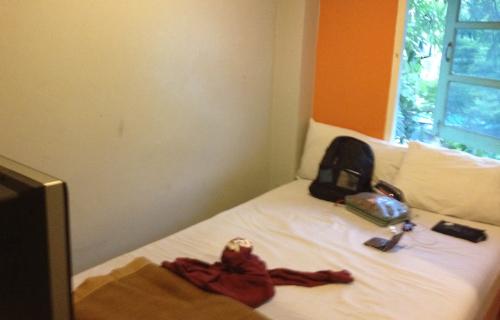 安宿の部屋