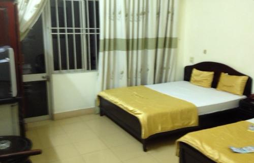 ニャチャンの宿の部屋