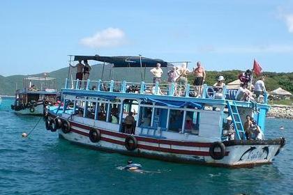ニャチャンのボート