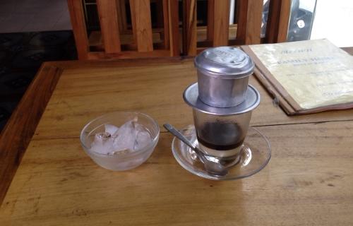 ベトナムのアイスコーヒー