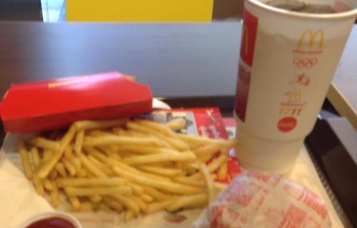 マクドナルドのセット