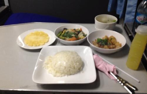 列車の食事