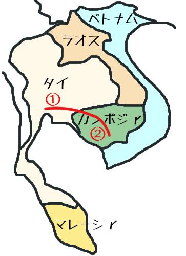 東南アジア地図②