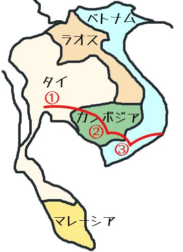 東南アジア地図③