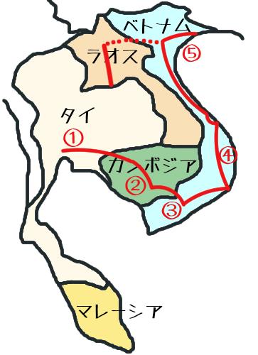 東南アジア地図⑤