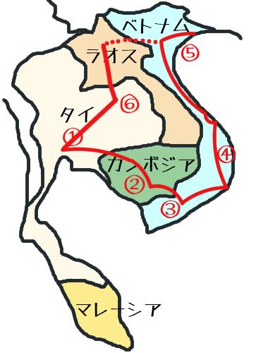 東南アジア地図⑥